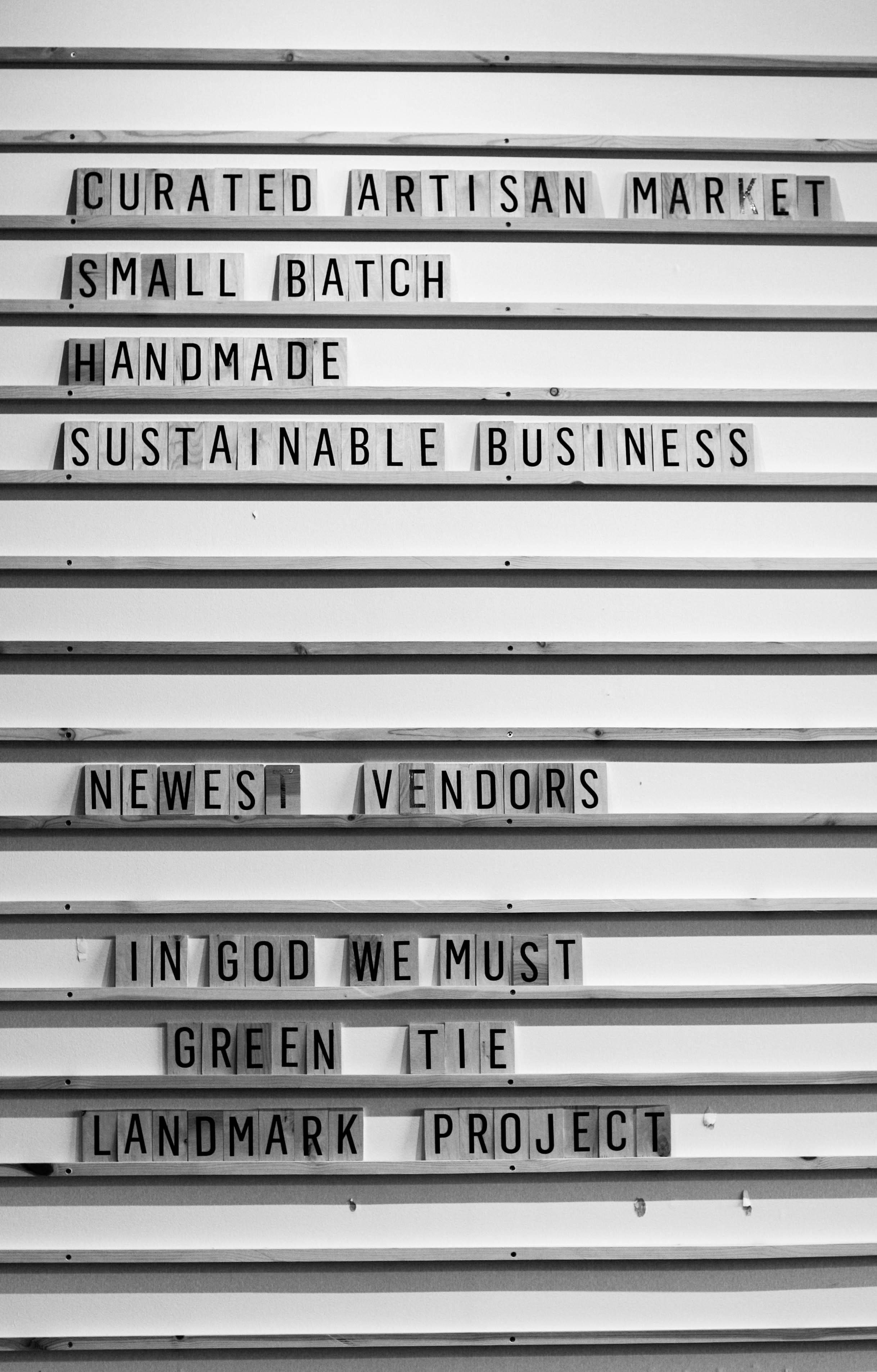 Citizen's Supply, where crafty vendors showcase their designs.