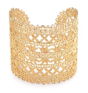 Alila Gold Lace Cuff - $98