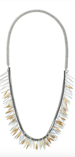 Freya Fringe Necklace - $118