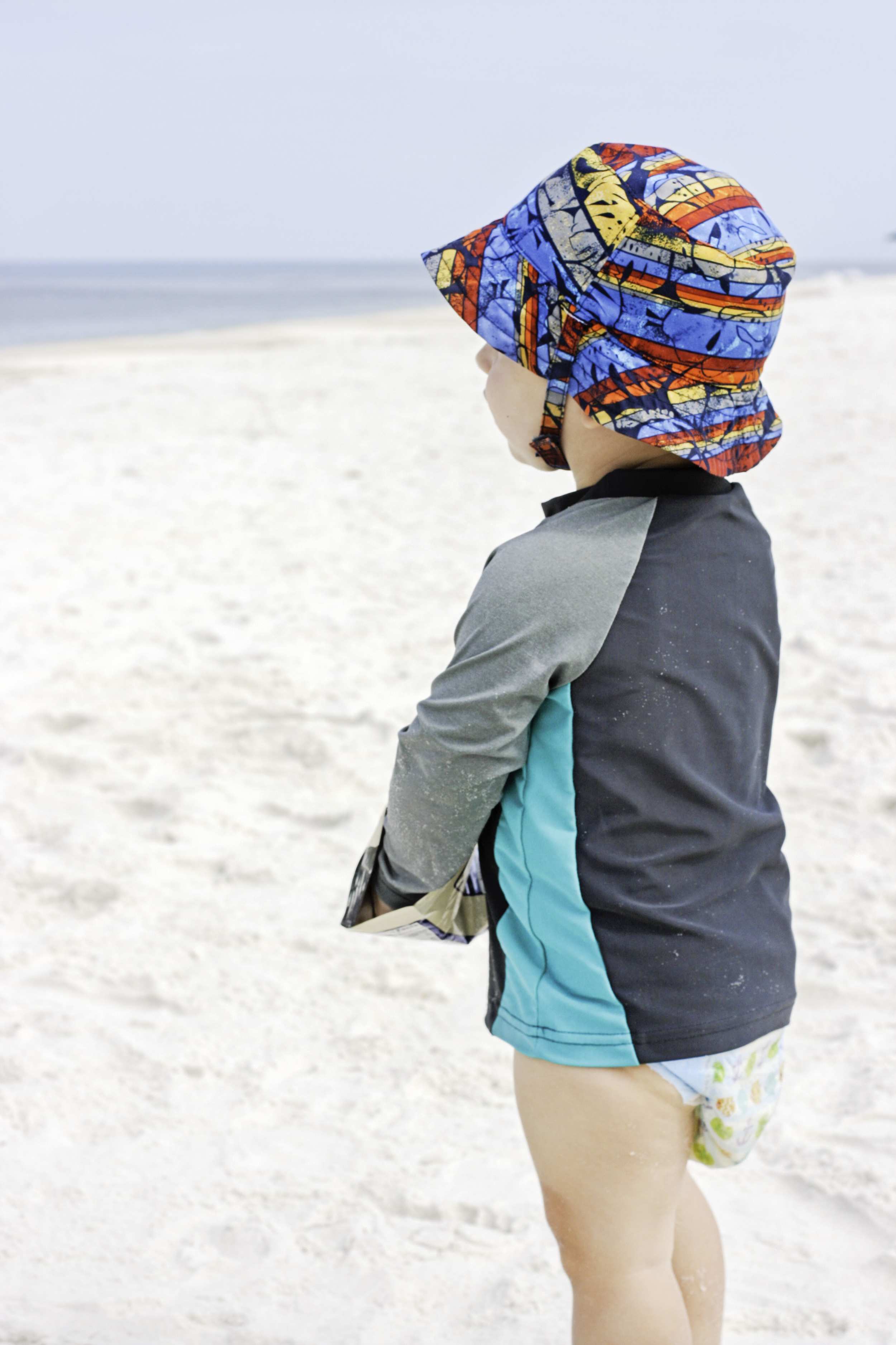 """Everett ate so much Pirate's Booty during beach week. He kept crying and asking for """"more boooooty!!!"""""""