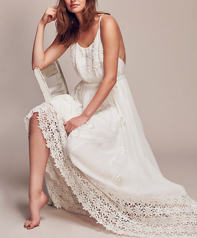 Free People X Daisry Petal Maxi Dress