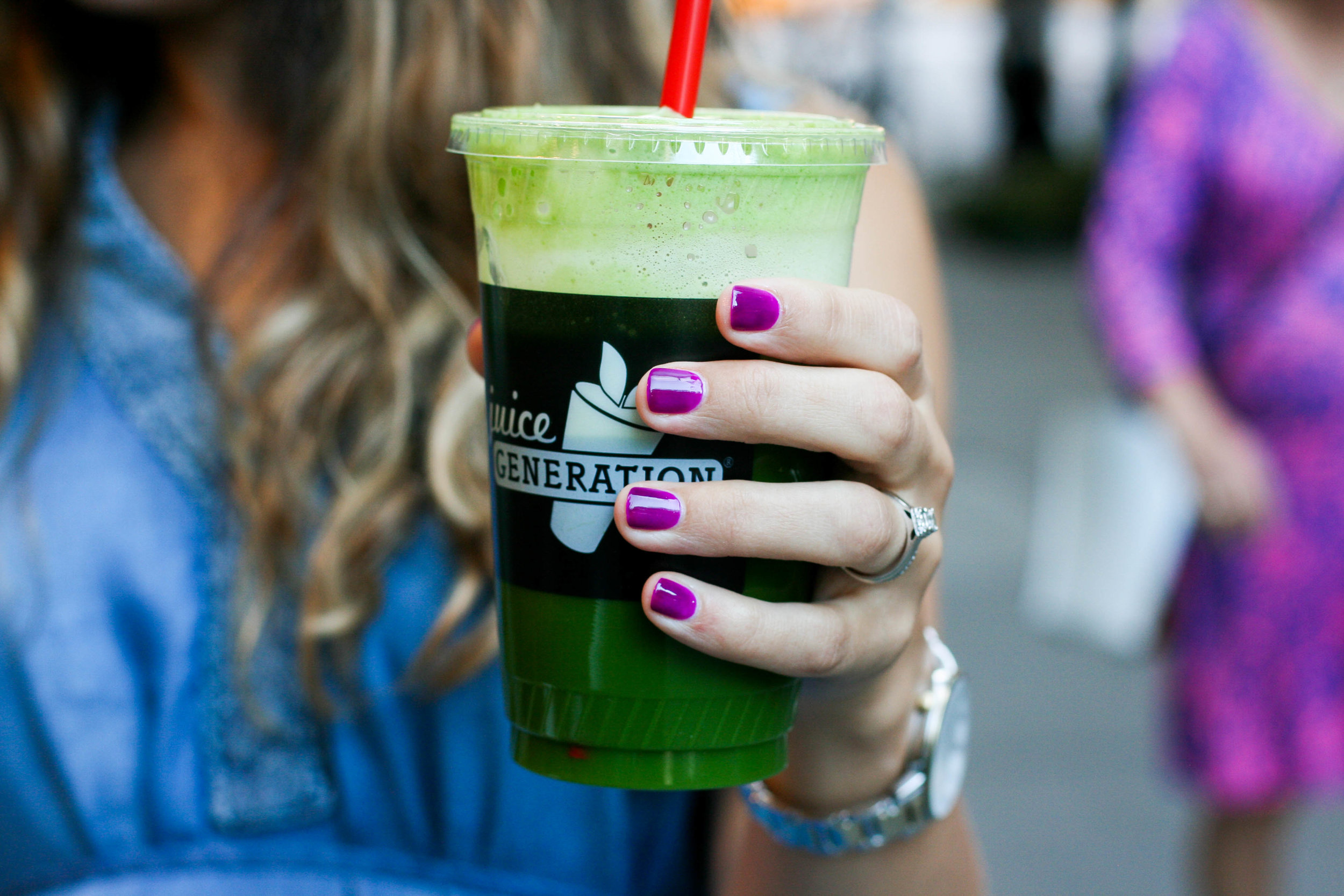 """This juice you guys. It's all the rage. Well, in my heart. It's  Juice Generation's """"Get Ur Green On""""  and it's SO GOOD."""