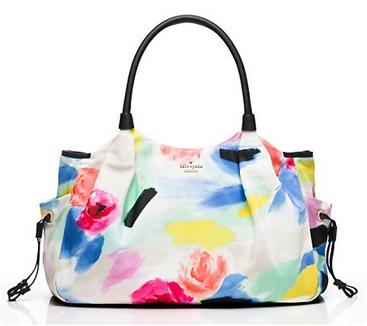 Kate Spade Stevie Diaper Bag in Watercolor