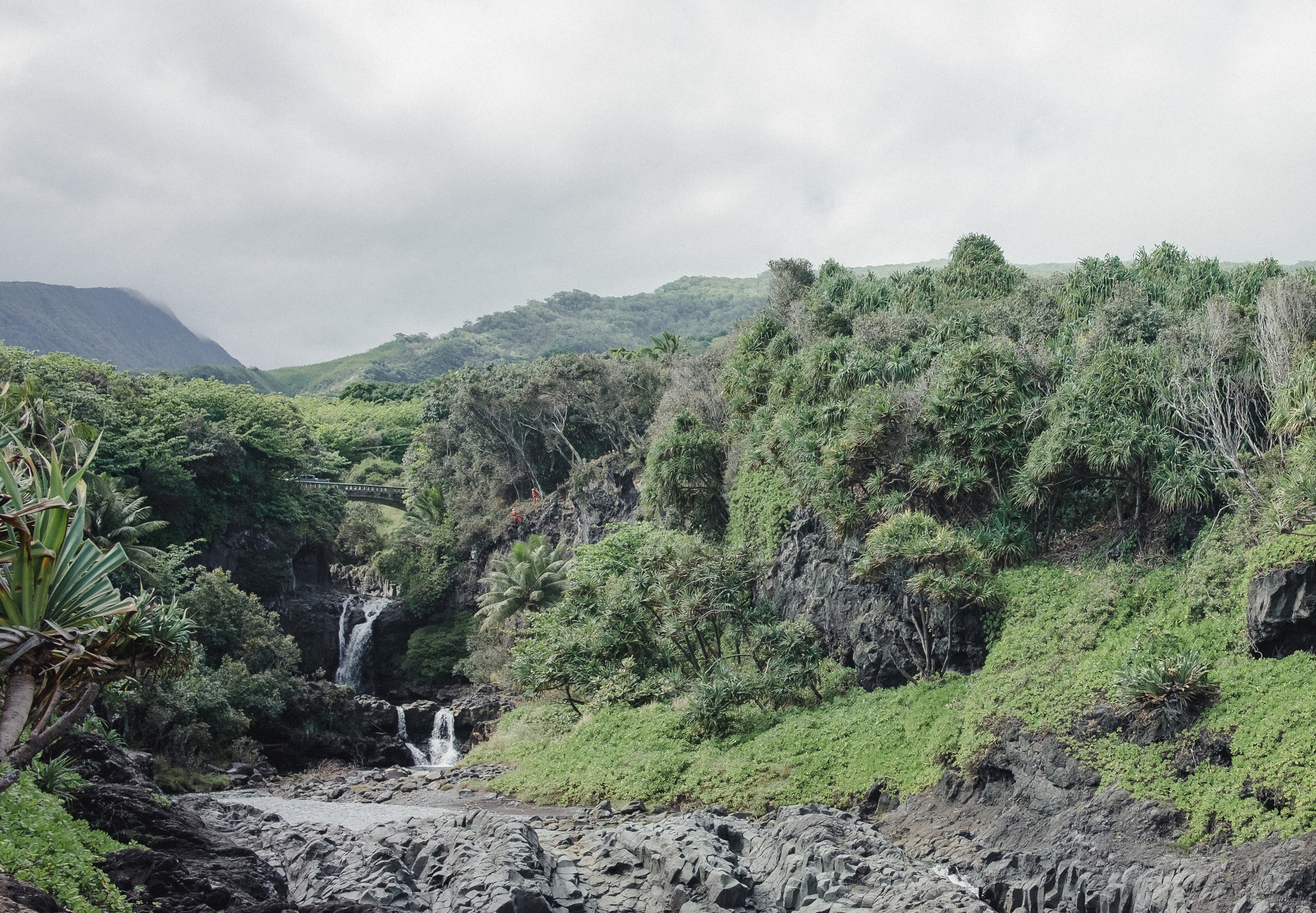 Ohe'o Gulch (Seven Sacred Pools) in Haleakala National Park