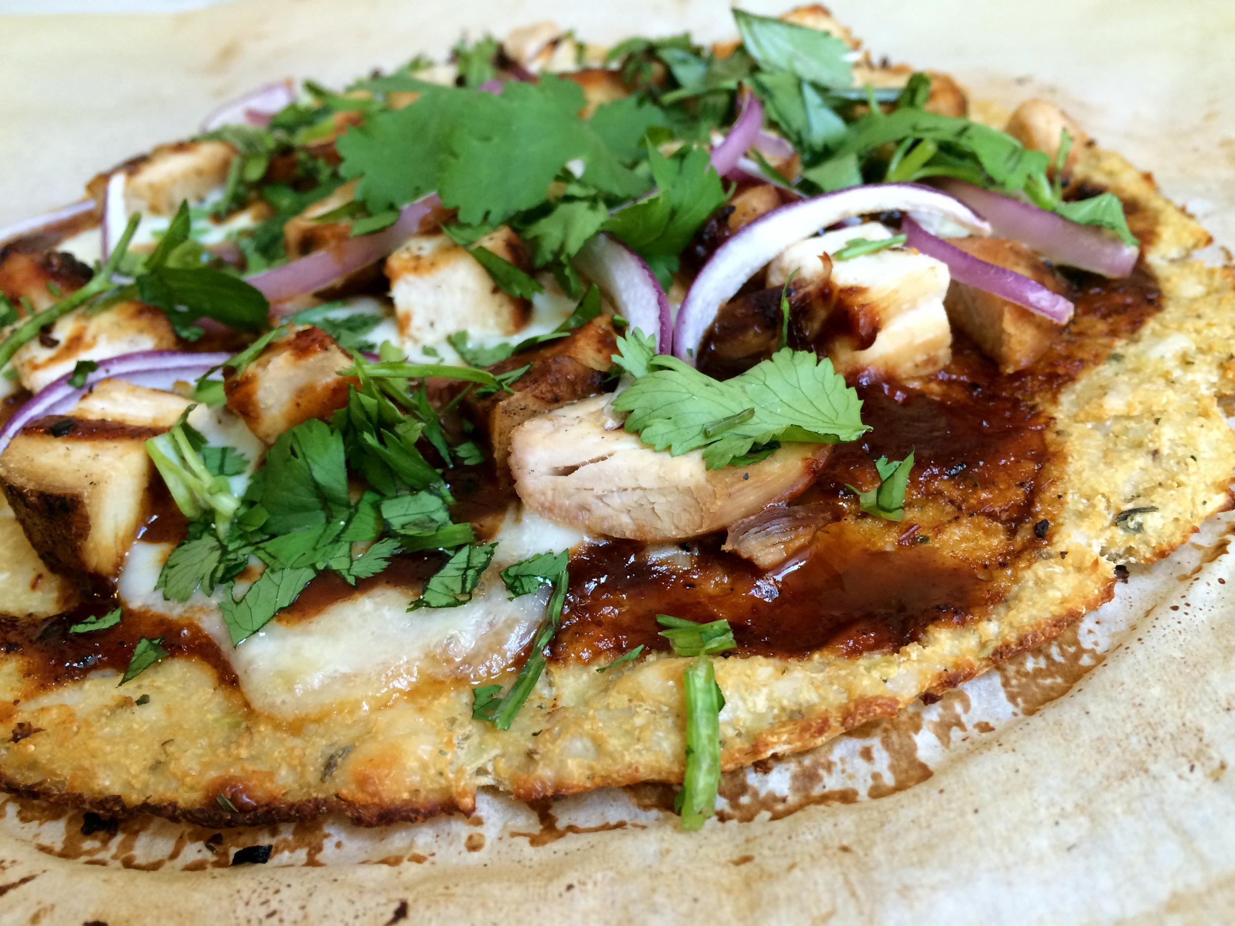 BBQ Chicken Cauliflower Pizza   My Engineered Nutrition