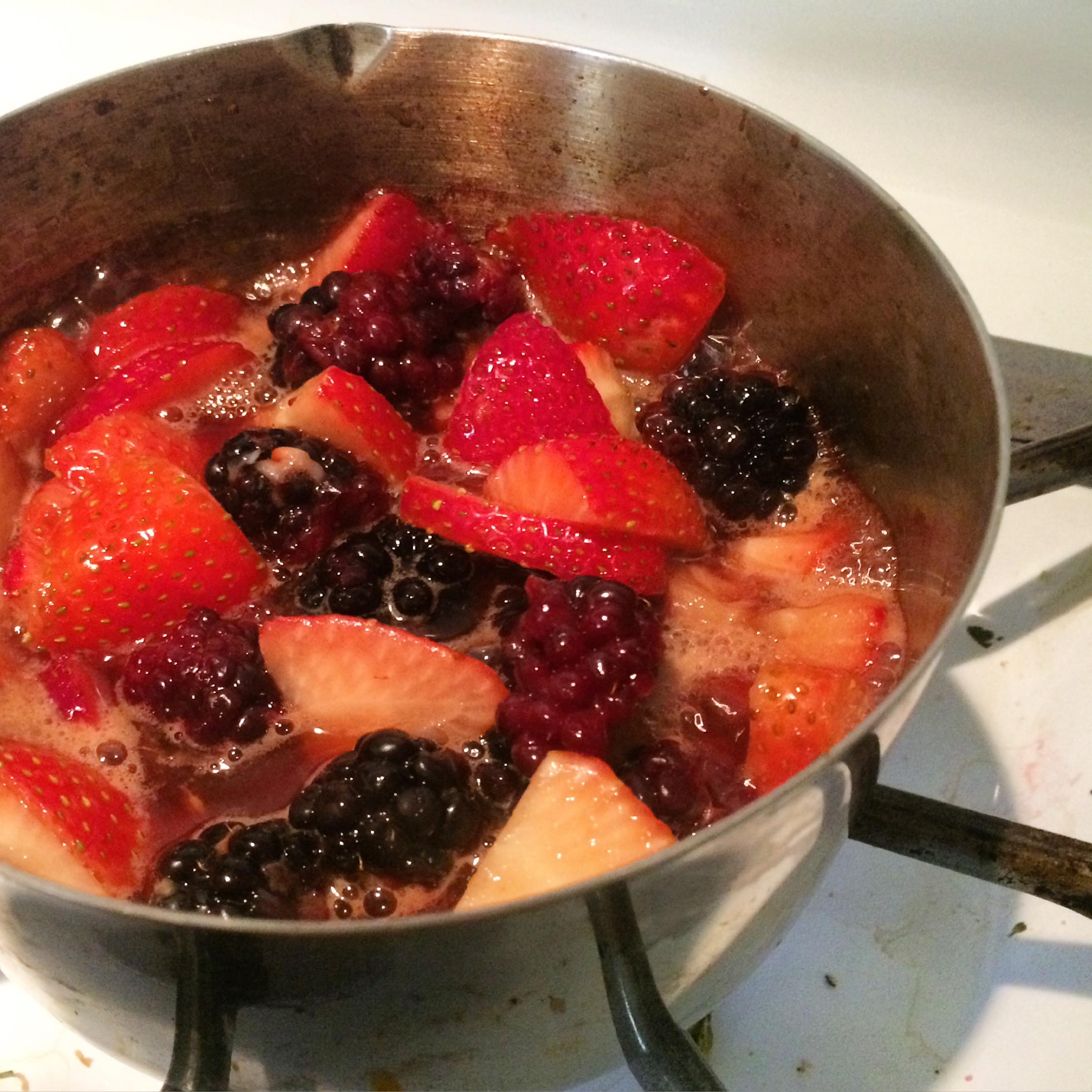 Mixed Berry Compote | My Engineered Nutrition