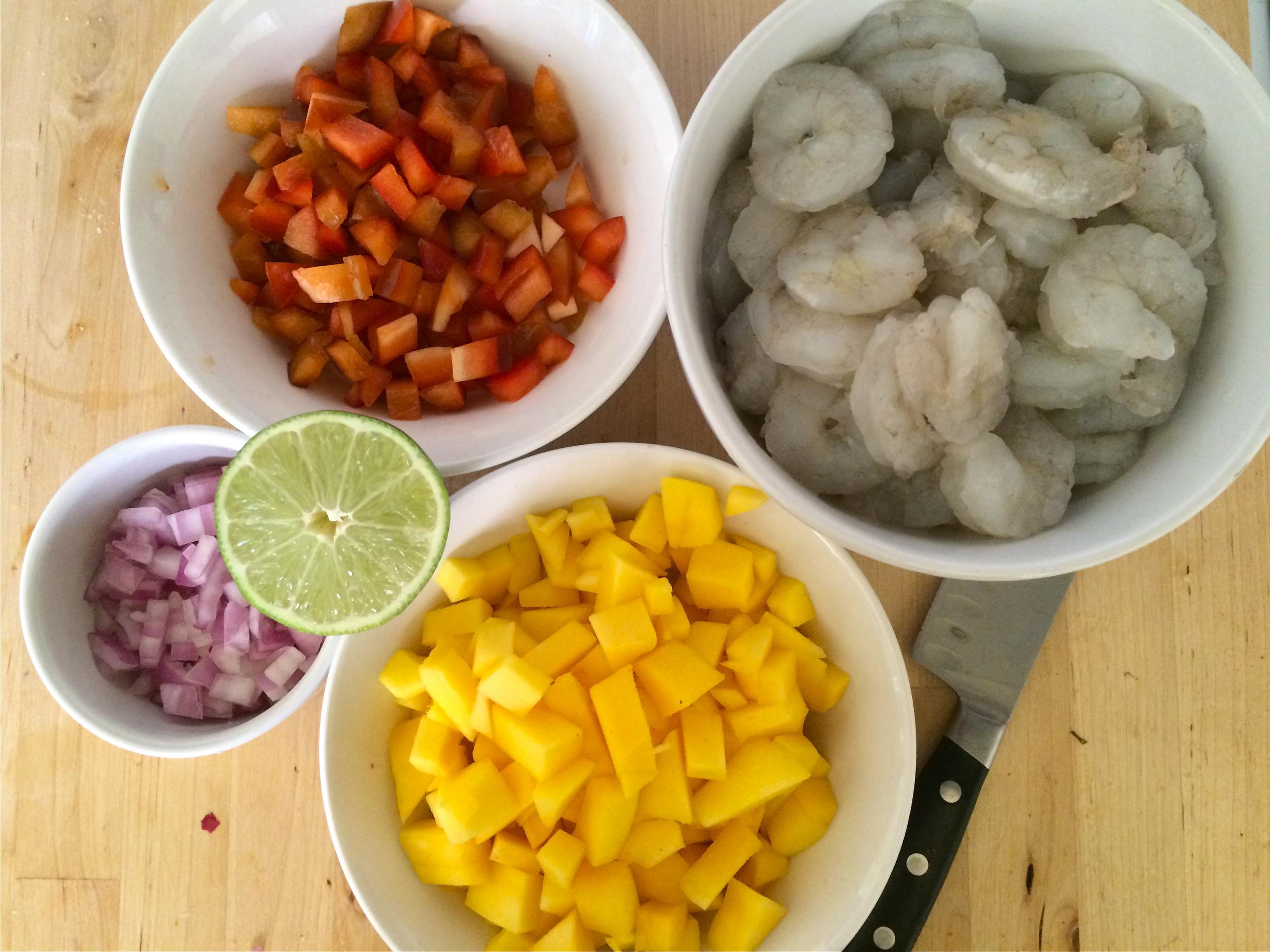 Mango Lime Shrimp | My Engineered Nutrition