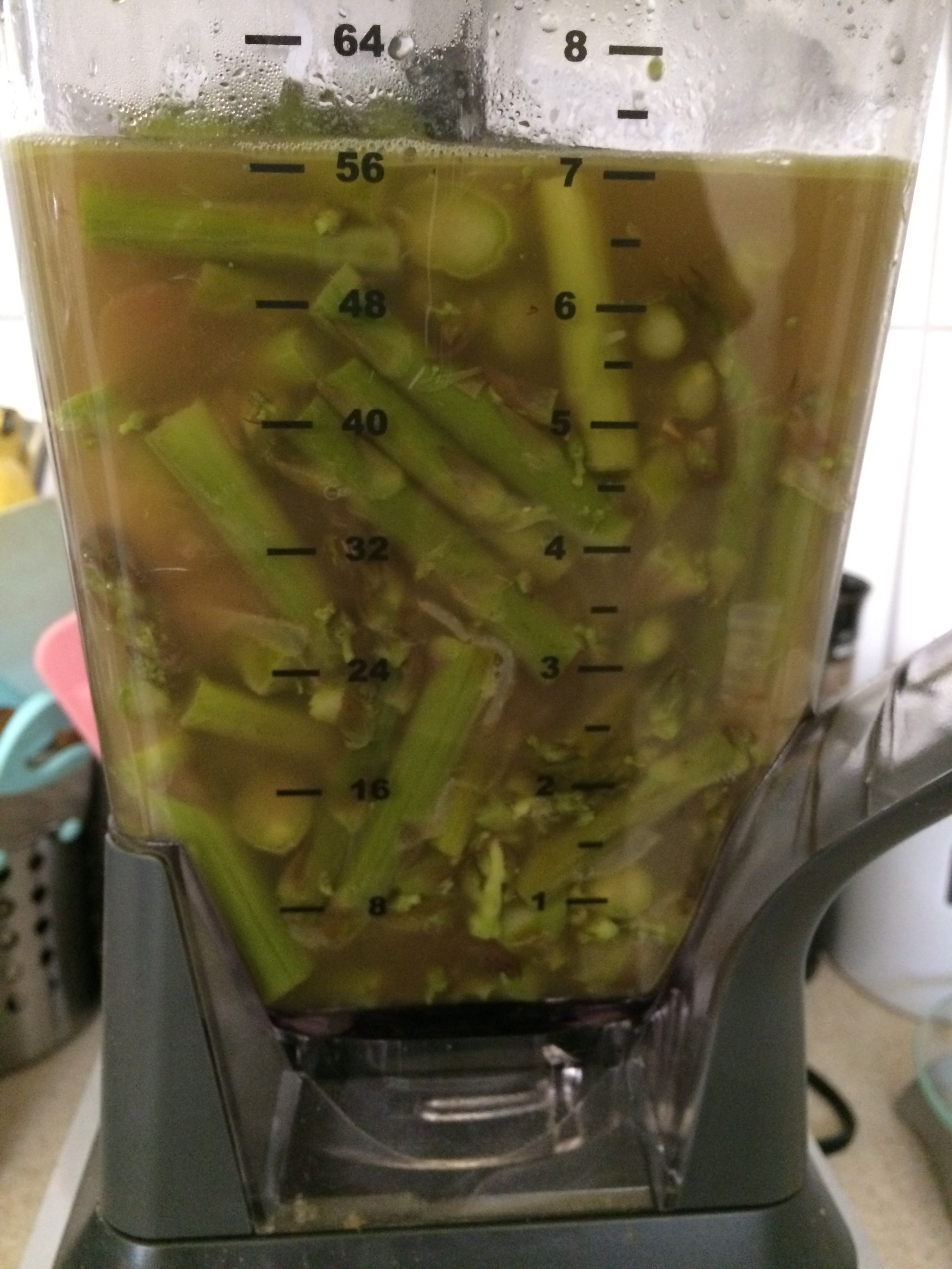 Coconut Cream of Asparagus Soup | My Engineered Nutrition