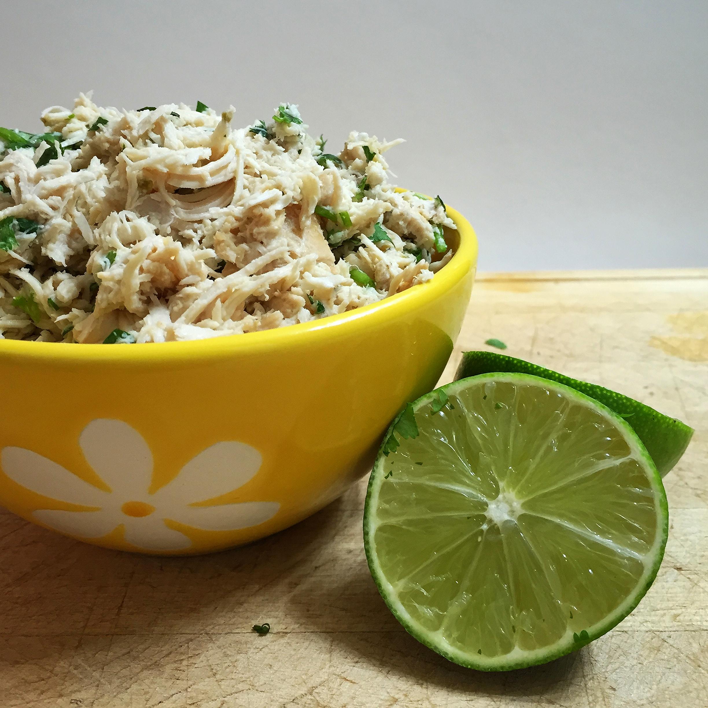 Cilantro Lime Chicken | My Engineered Nutrition