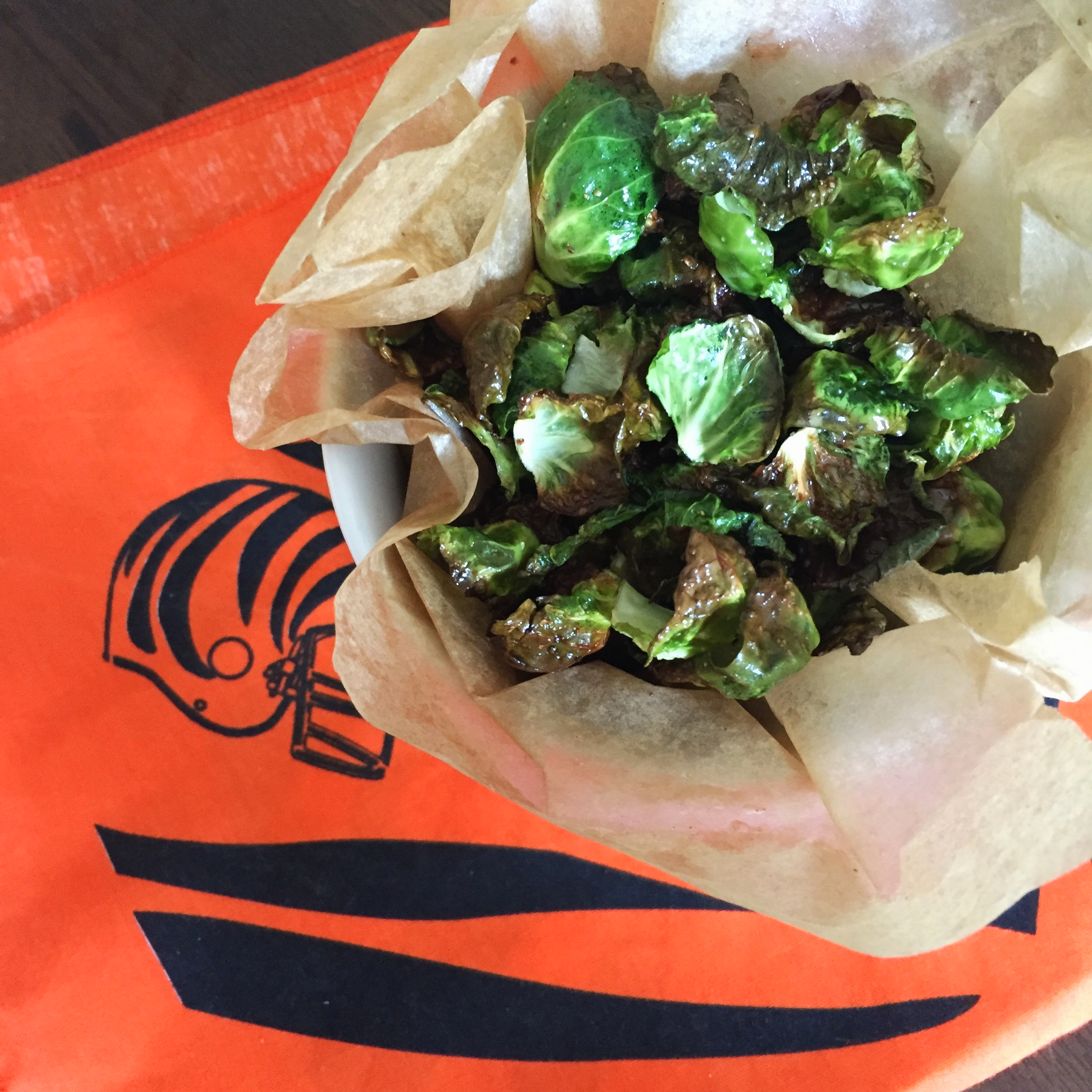 Brussels Sprout Chips | My Engineered Nutrition