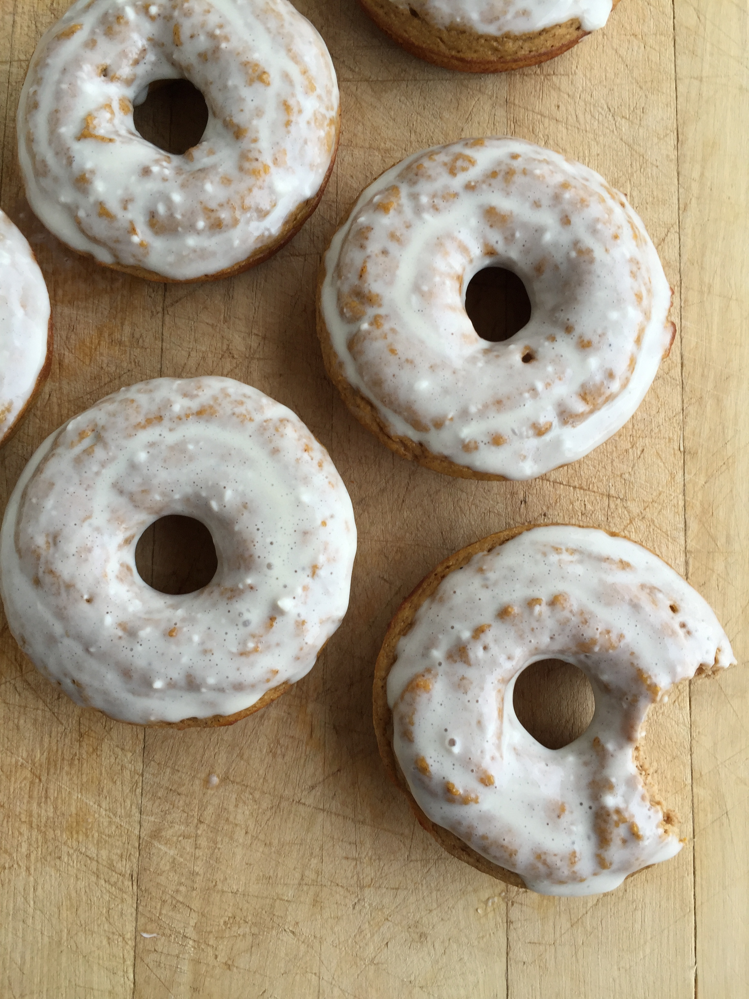 Pumpkin Protein Donuts | My Engineered Nutrition