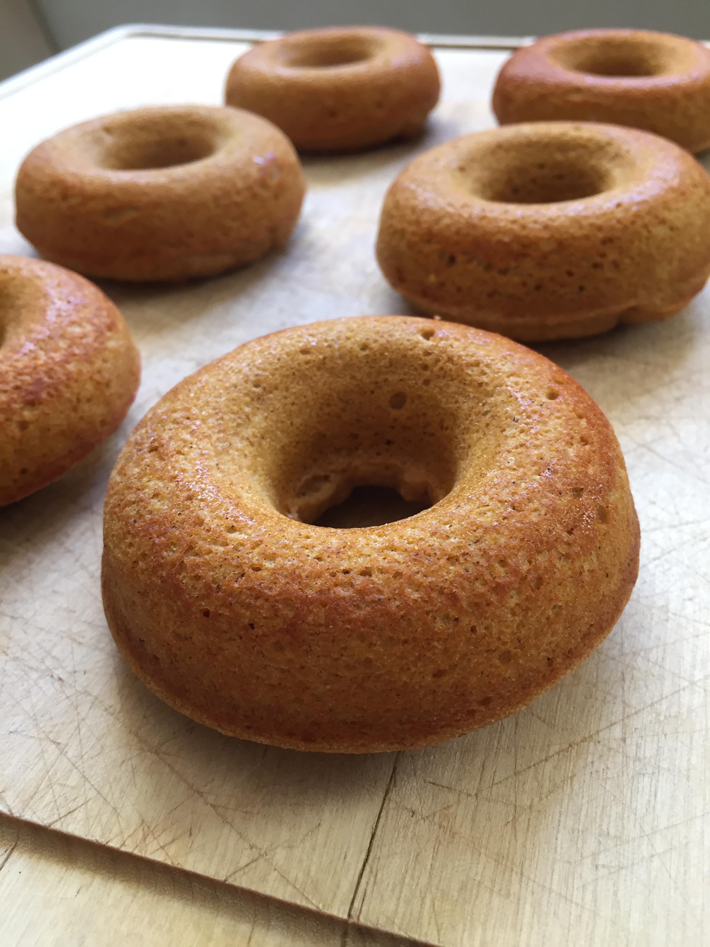 Pumpkin Protein Donuts   My Engineered Nutrition