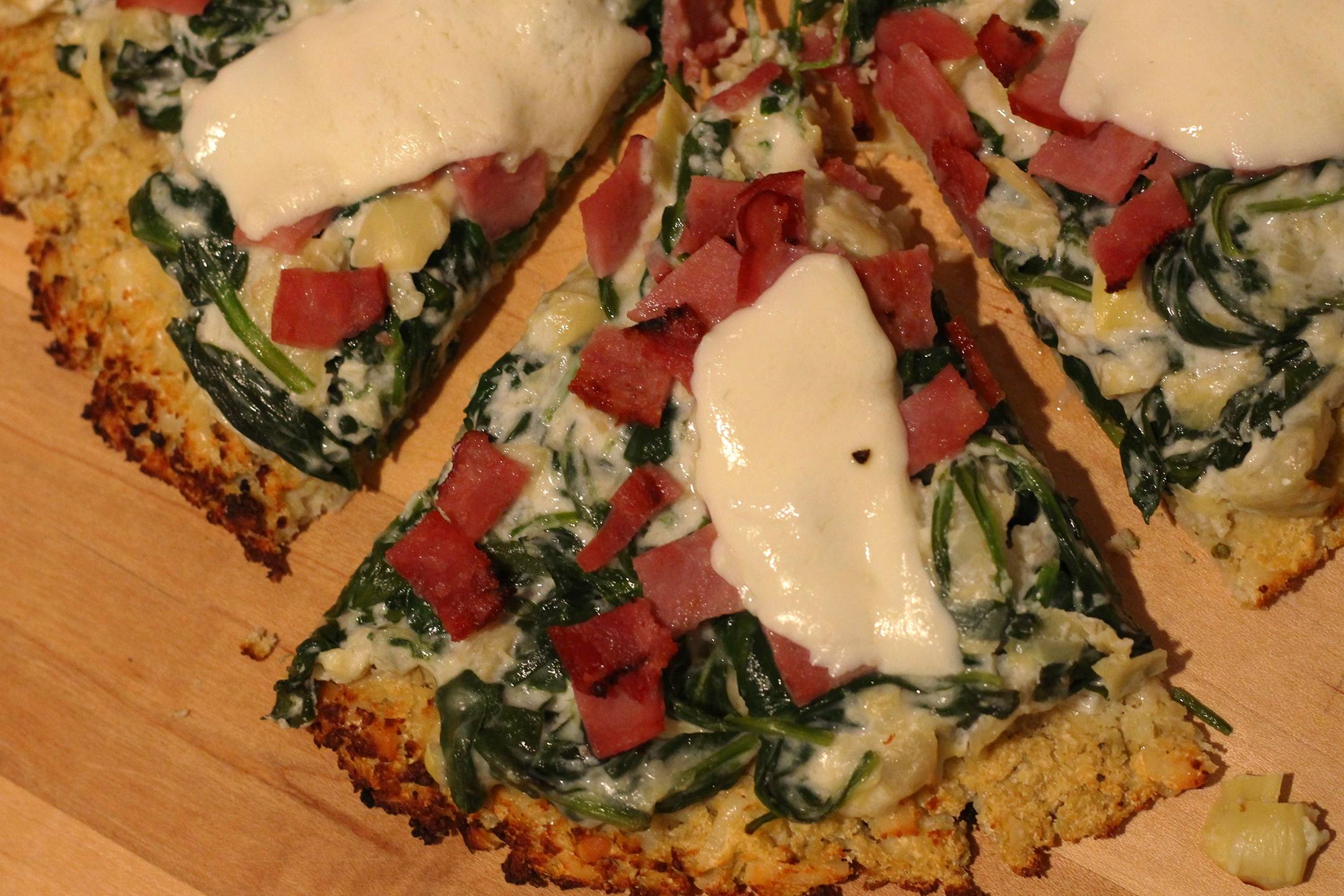 Spinach Artichoke Pizza | My Engineered Nutrition