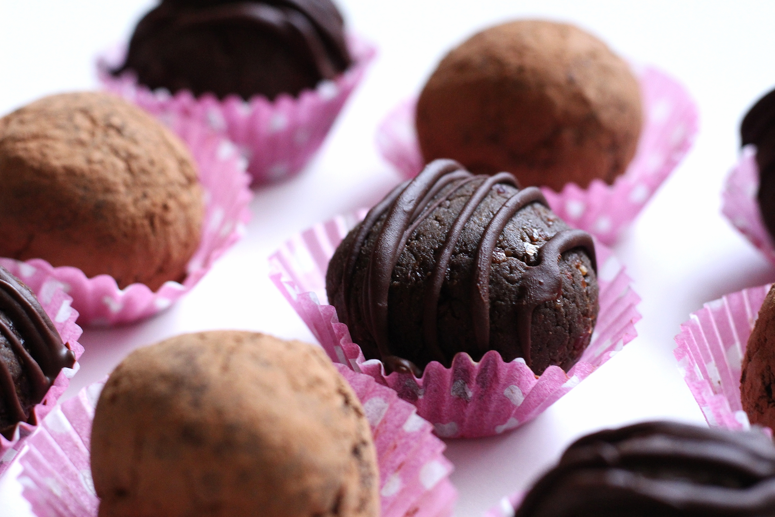 Chocolate Cherry Protein Truffles | My Engineered Nutrition