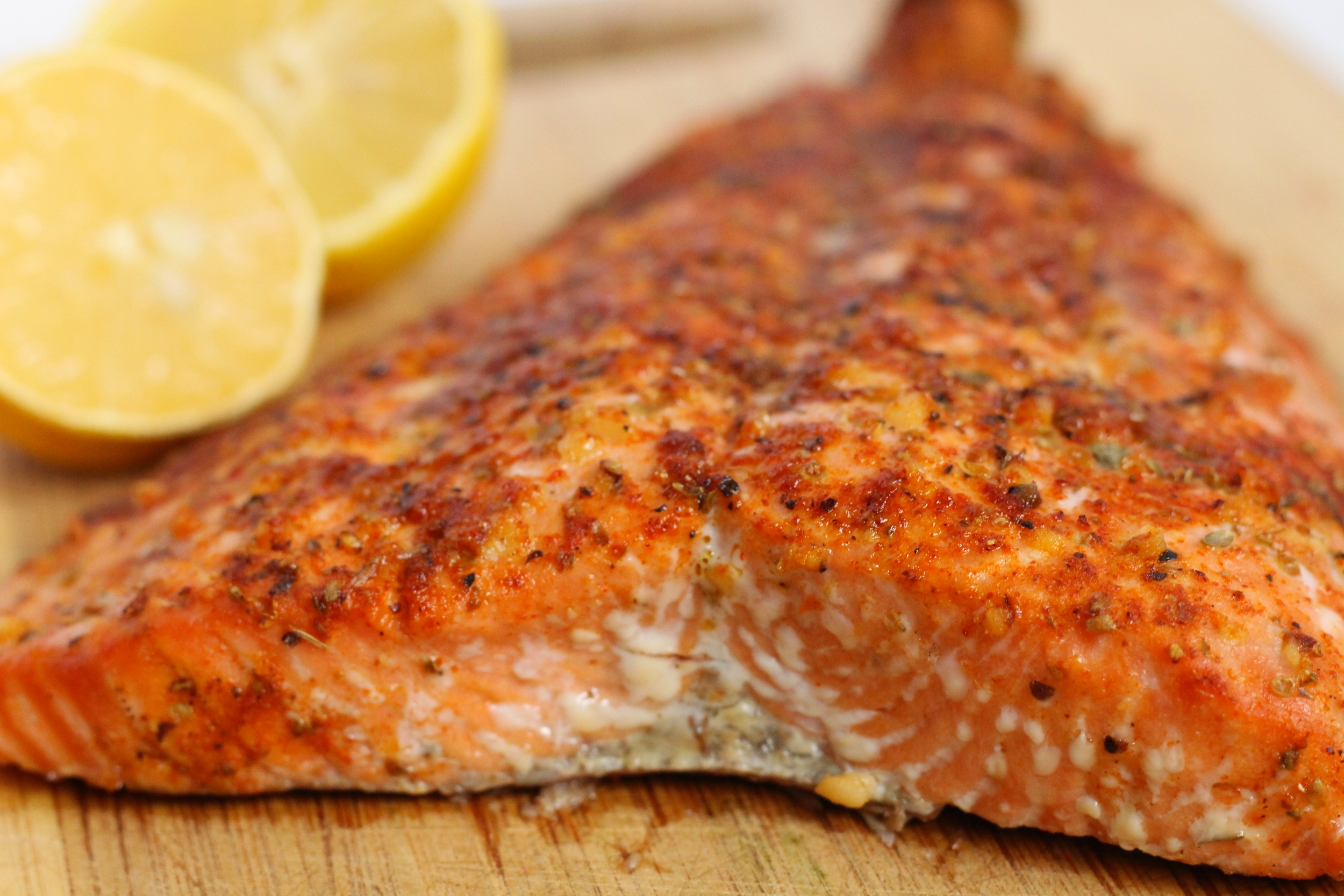 Cajun Baked Salmon | My Engineered Nutrition