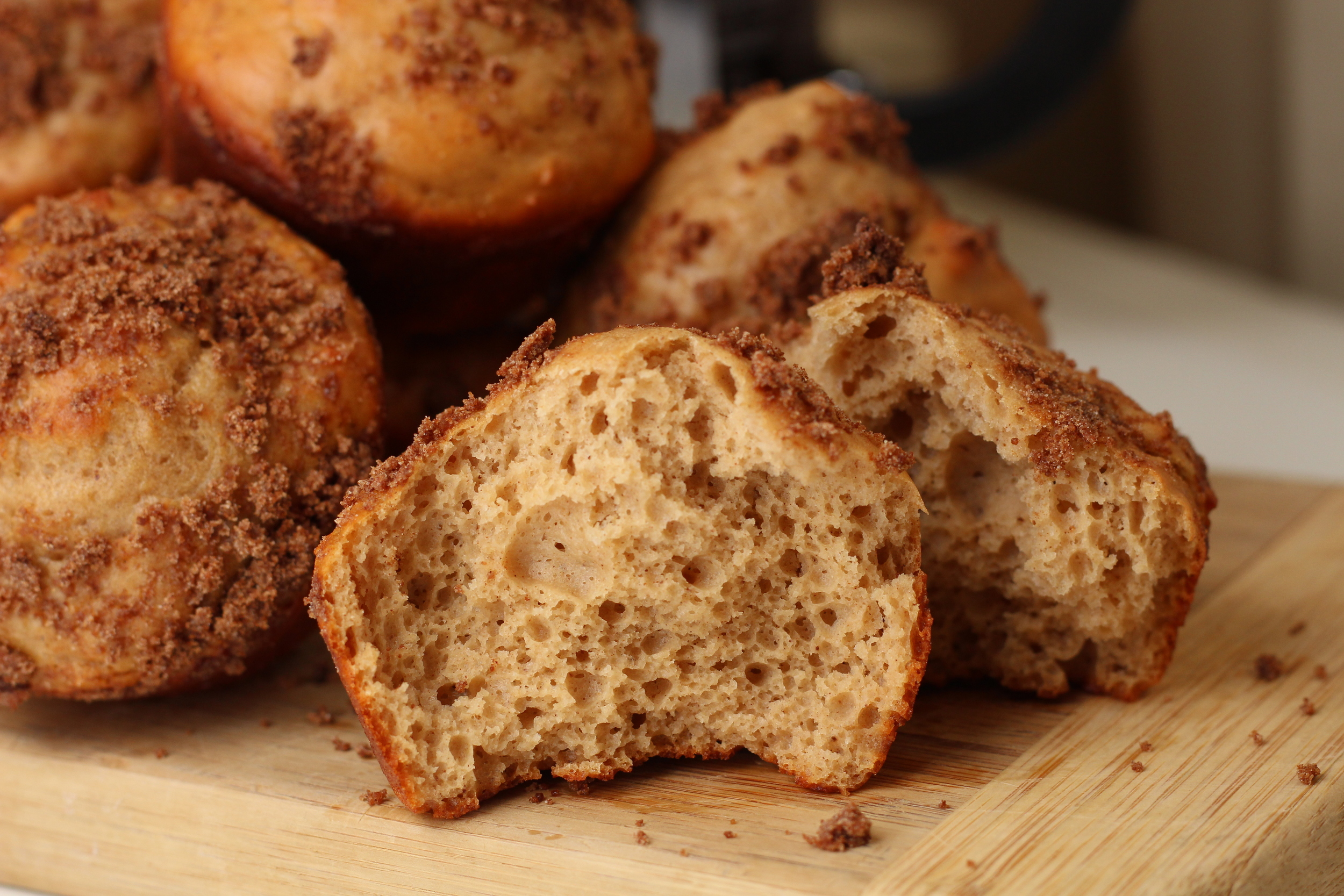 Coffee Cake Protein Muffins | My Engineered Nutrition