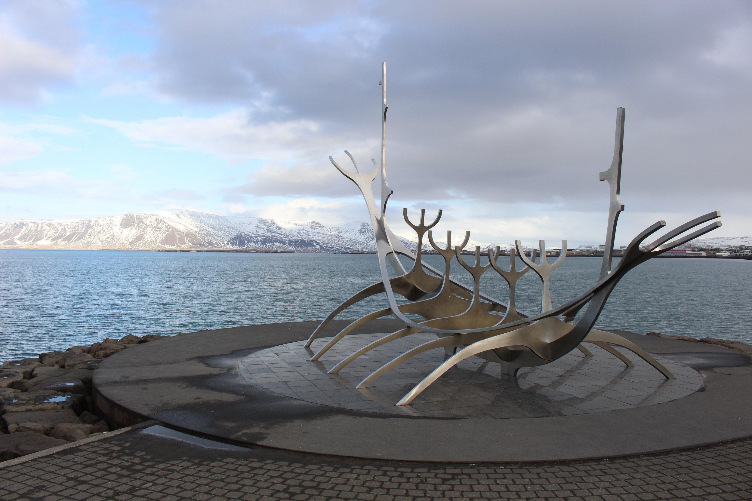 Sólfarið - Sun Voyager, Reykjavik