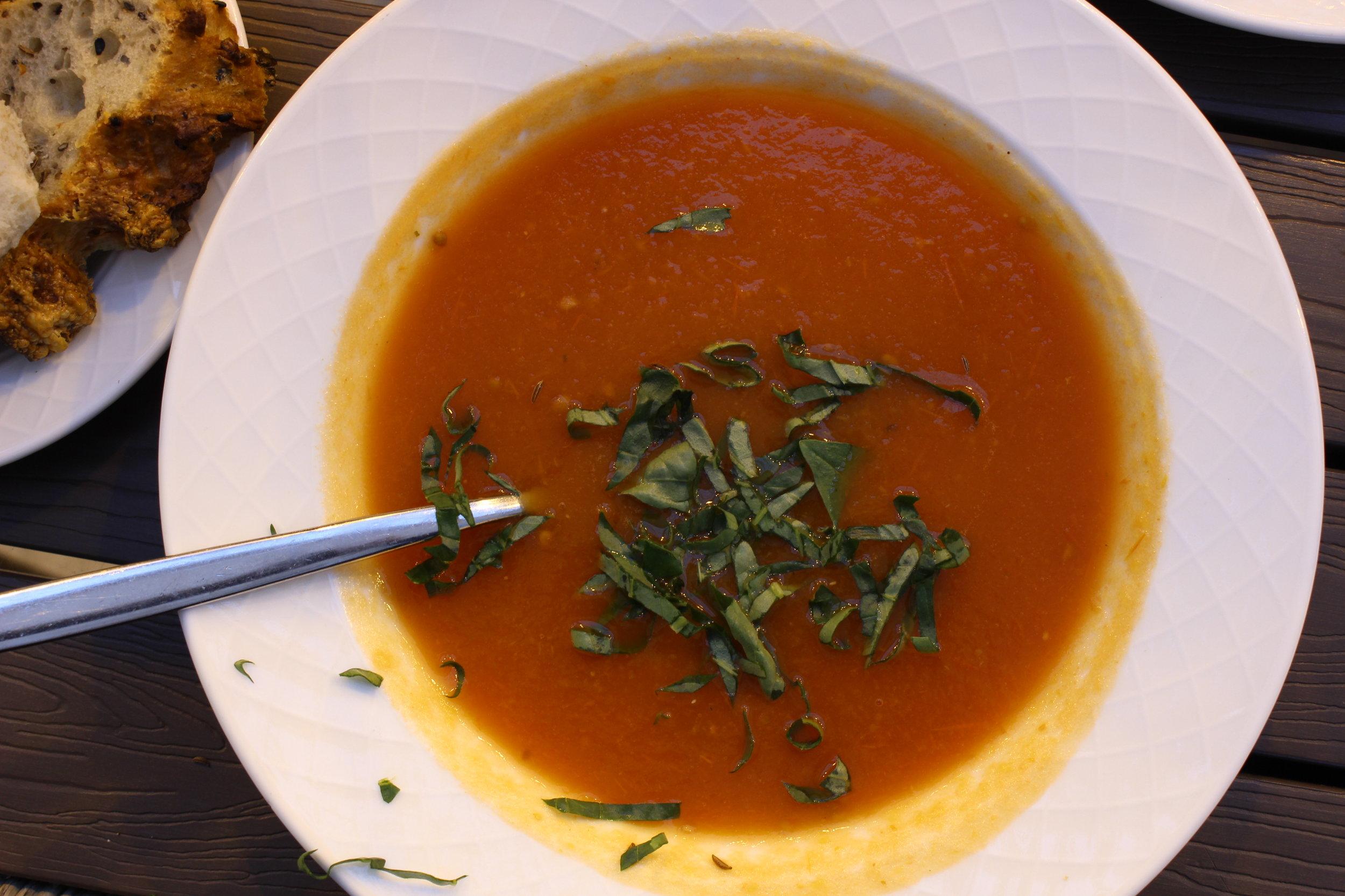 Tomatoe Soup, Friðheimar Farm