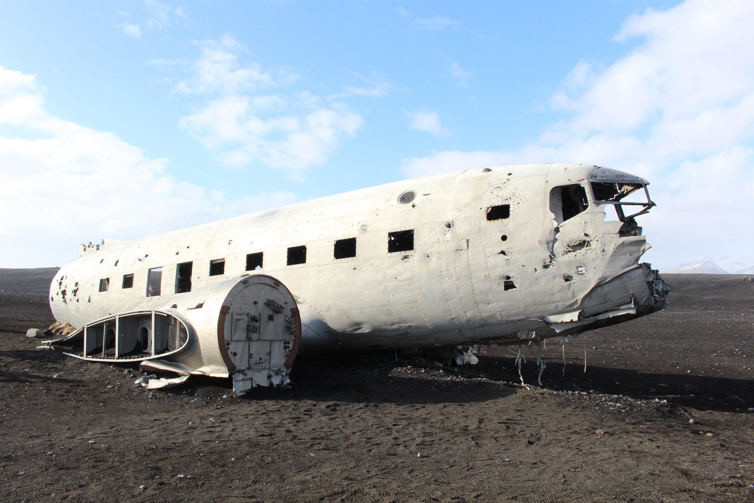 Sólheimasandur Plane Crash (1973 US Navy airplane)