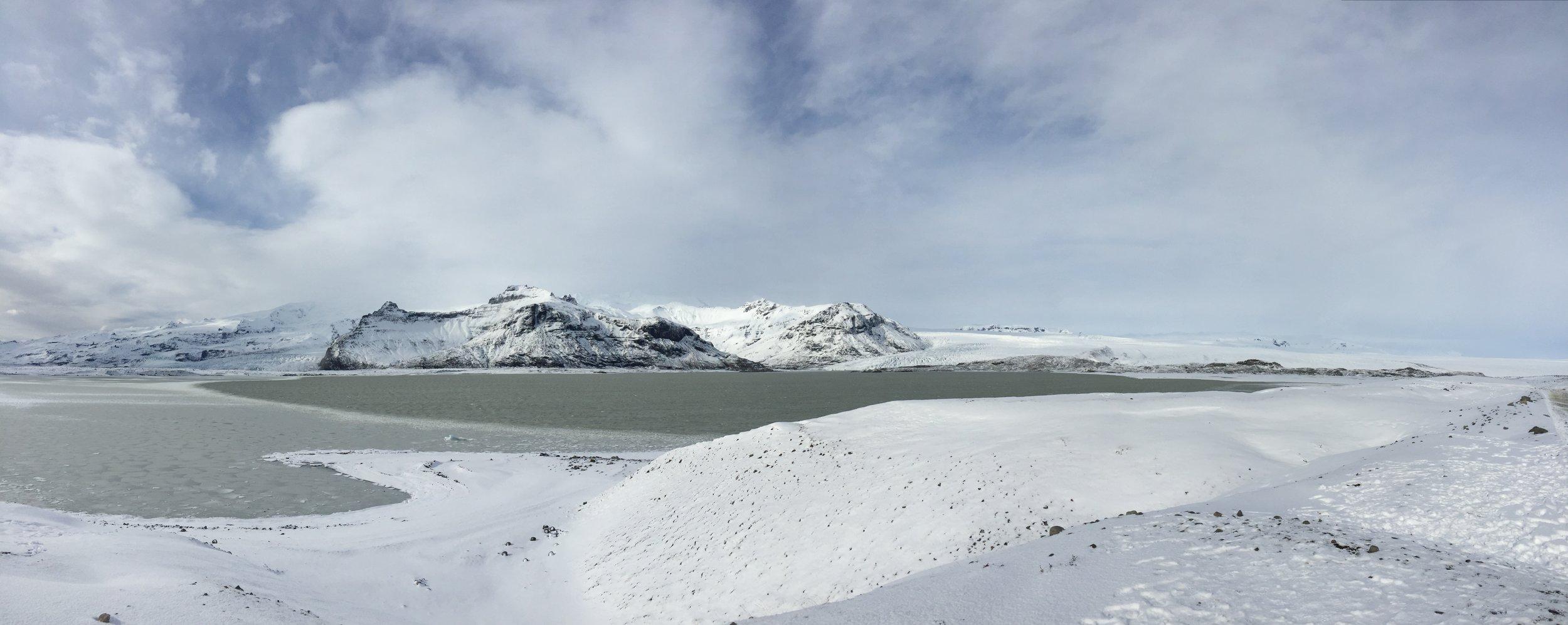Drive to Breiðarmerkurjökull