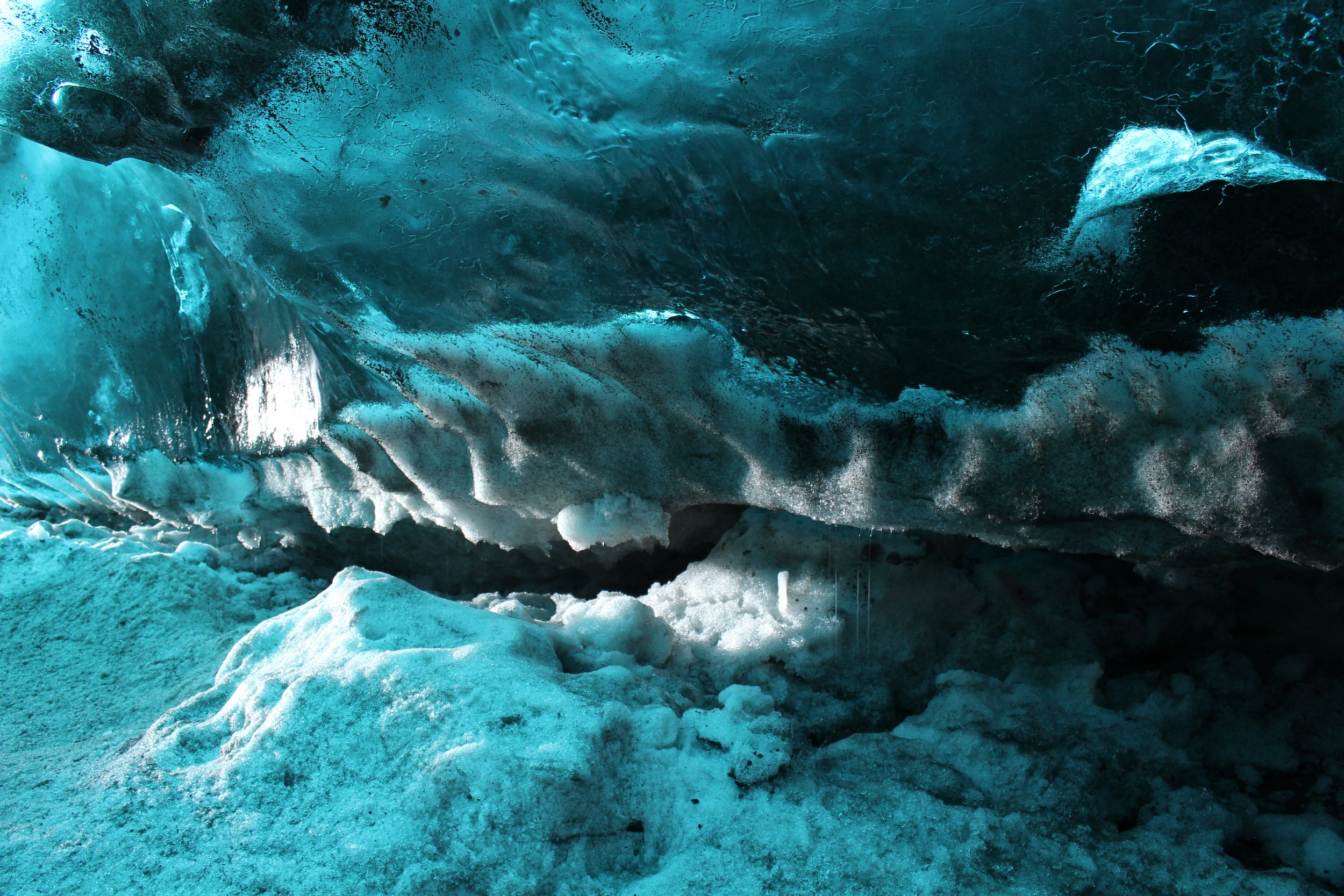 Crystal Ice Cave, Breiðarmerkurjökull