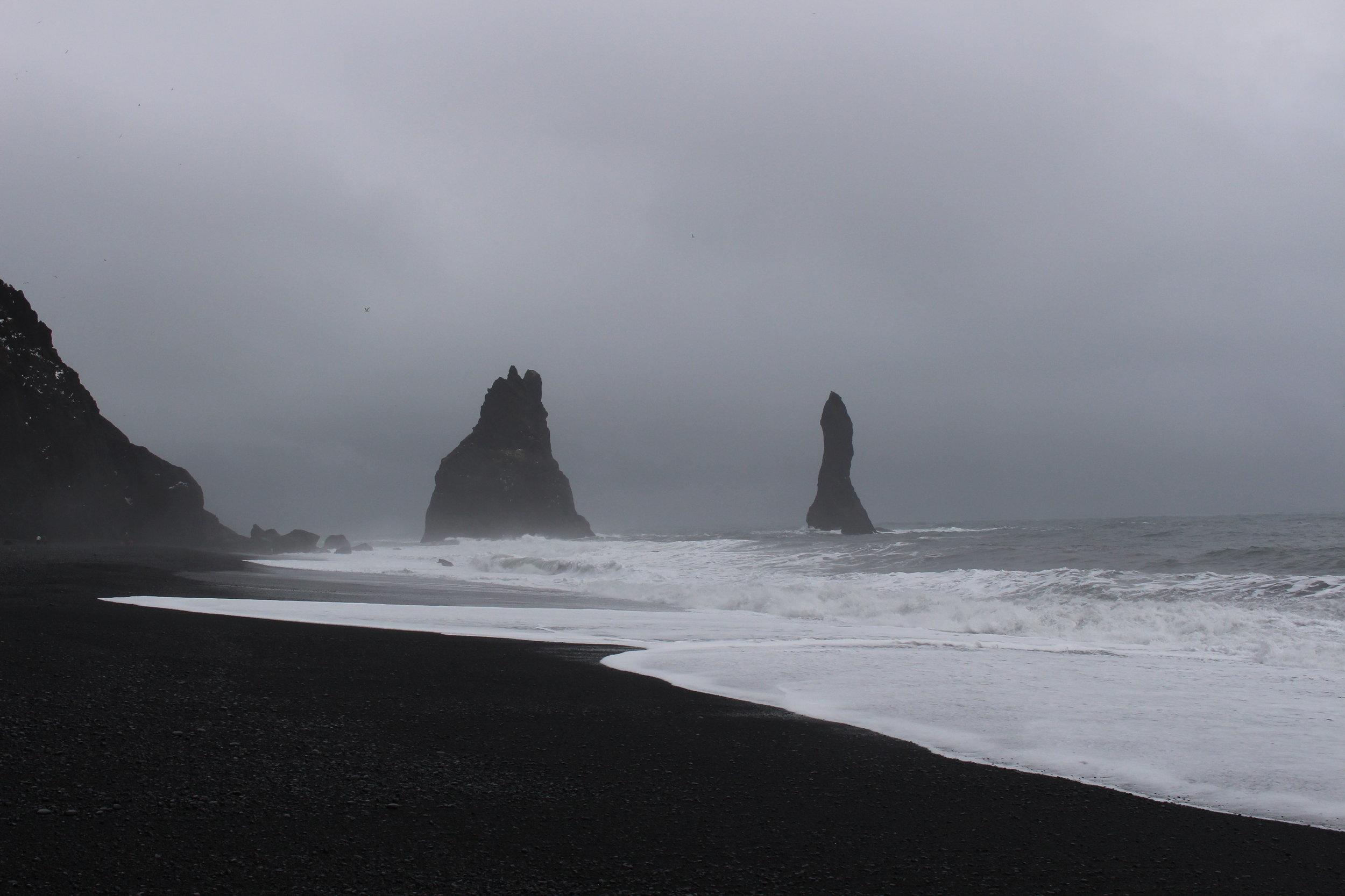 Reynisdrangar, Basalt Sea Stacks
