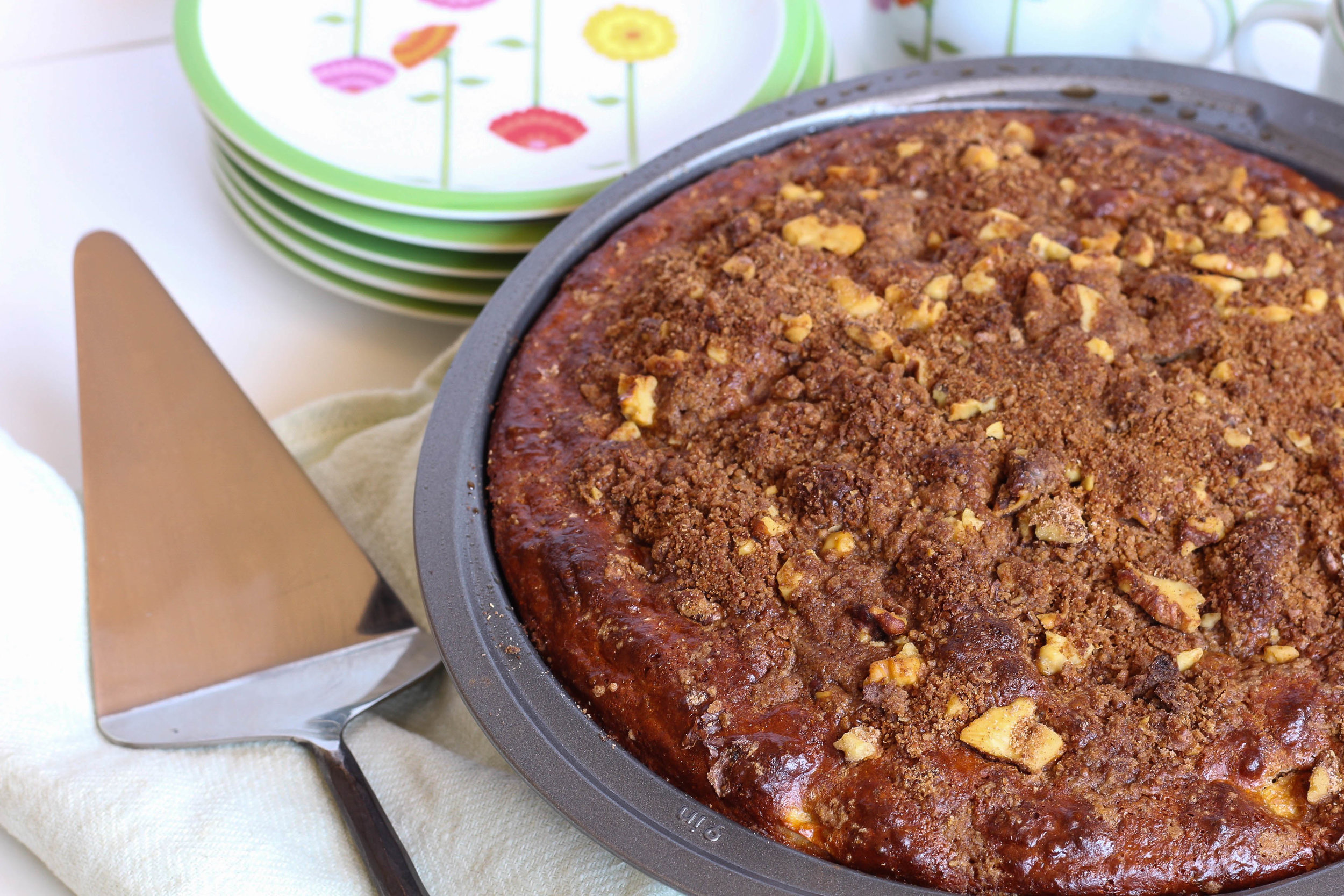 Apple Cinnamon Protein Coffee Cake | My Engineered Nutrition