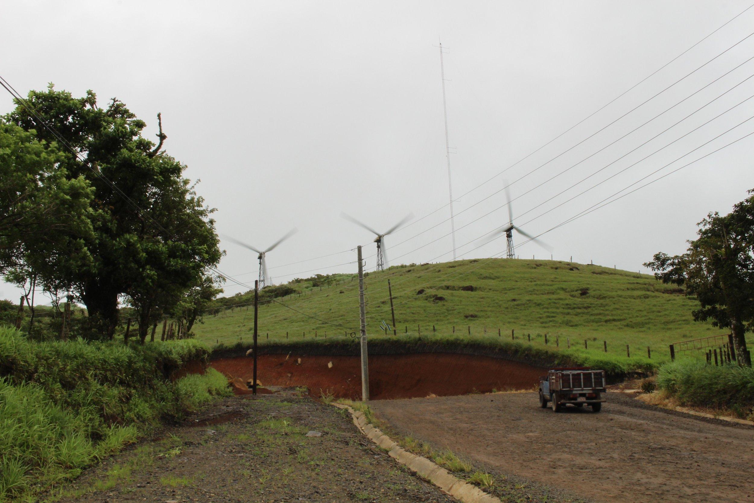 Wind farm in Tejona