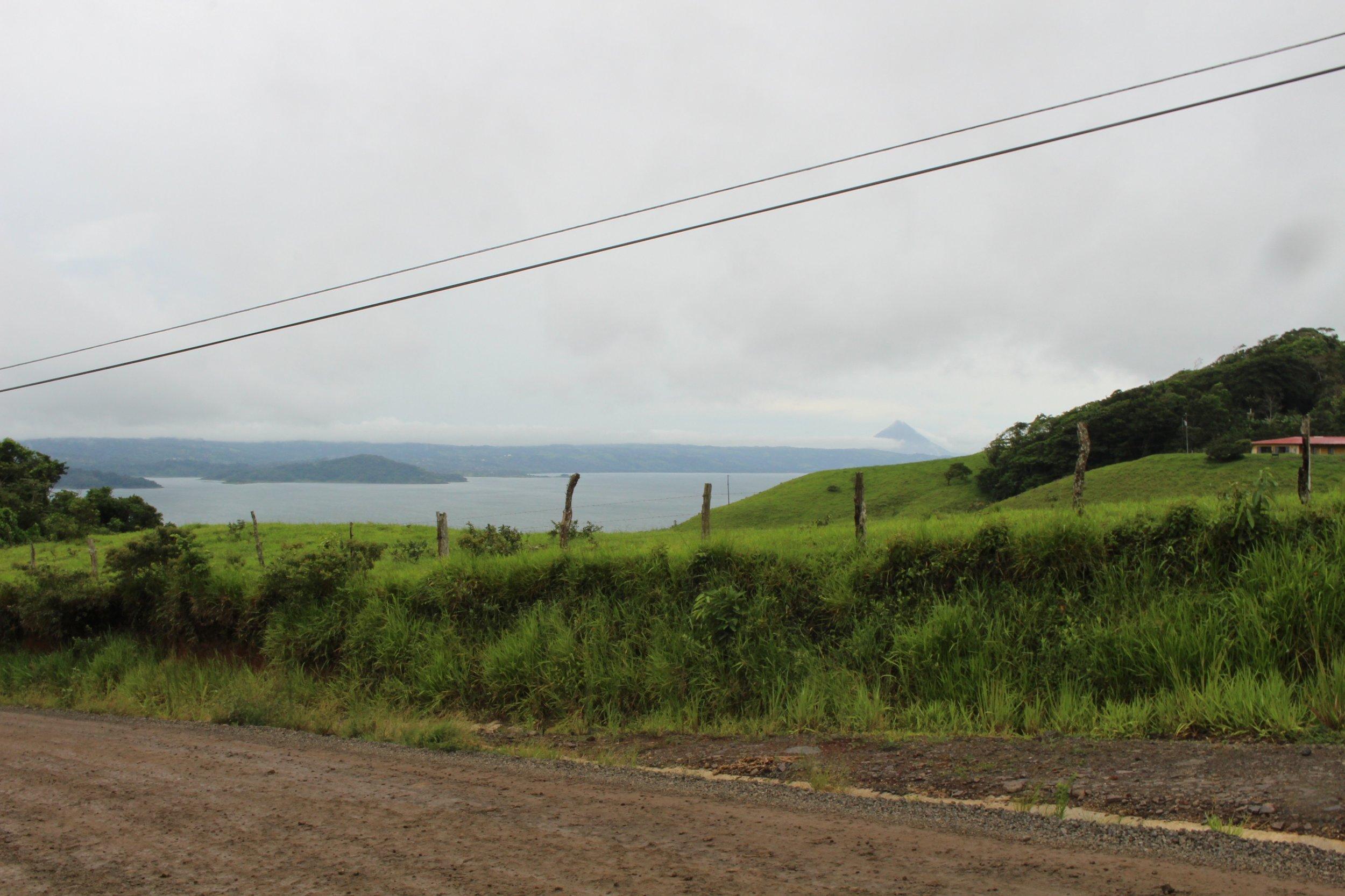 Driving around Lake Arenal