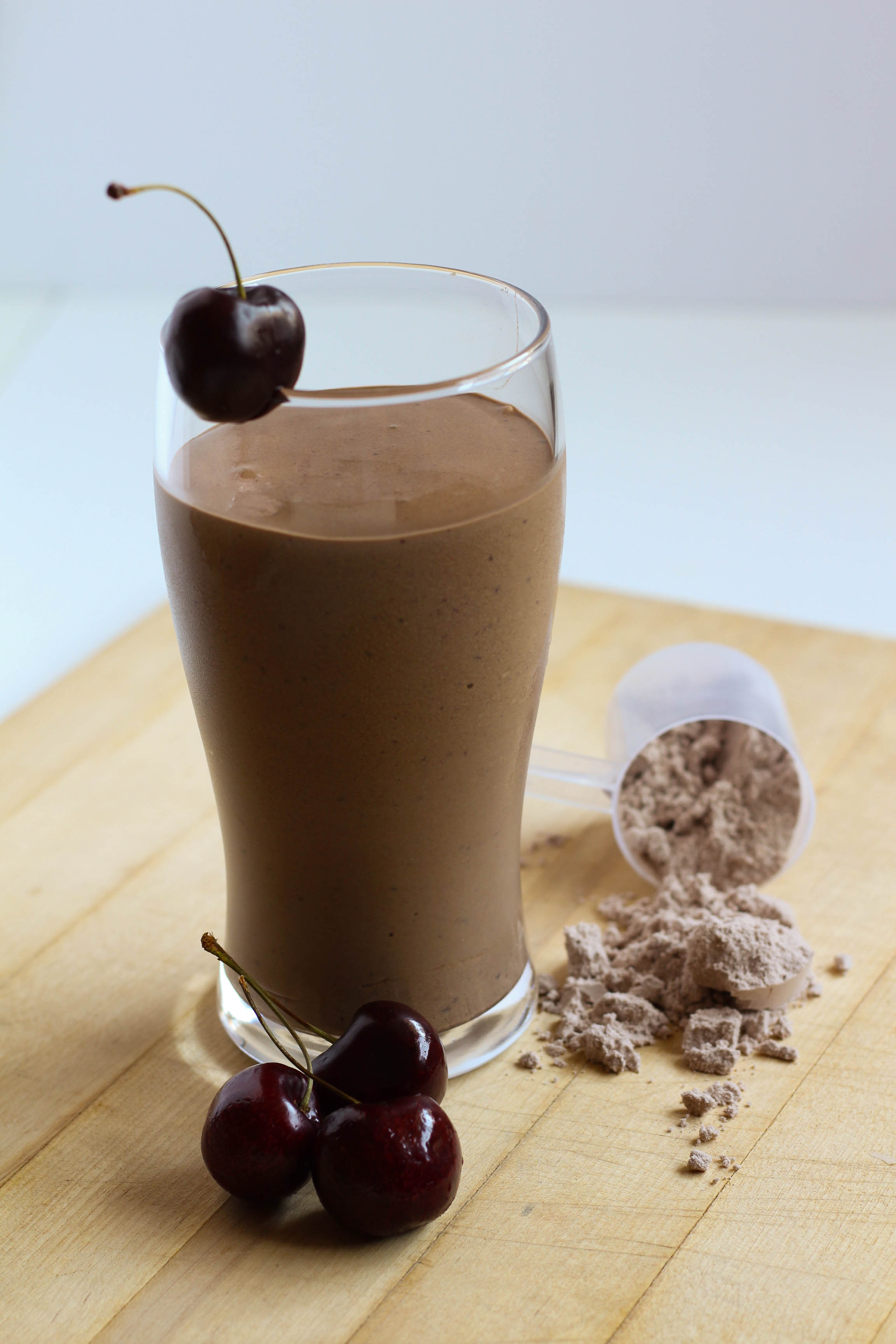 Chocolate Cherry Protein Shake | My Engineered Nutrition