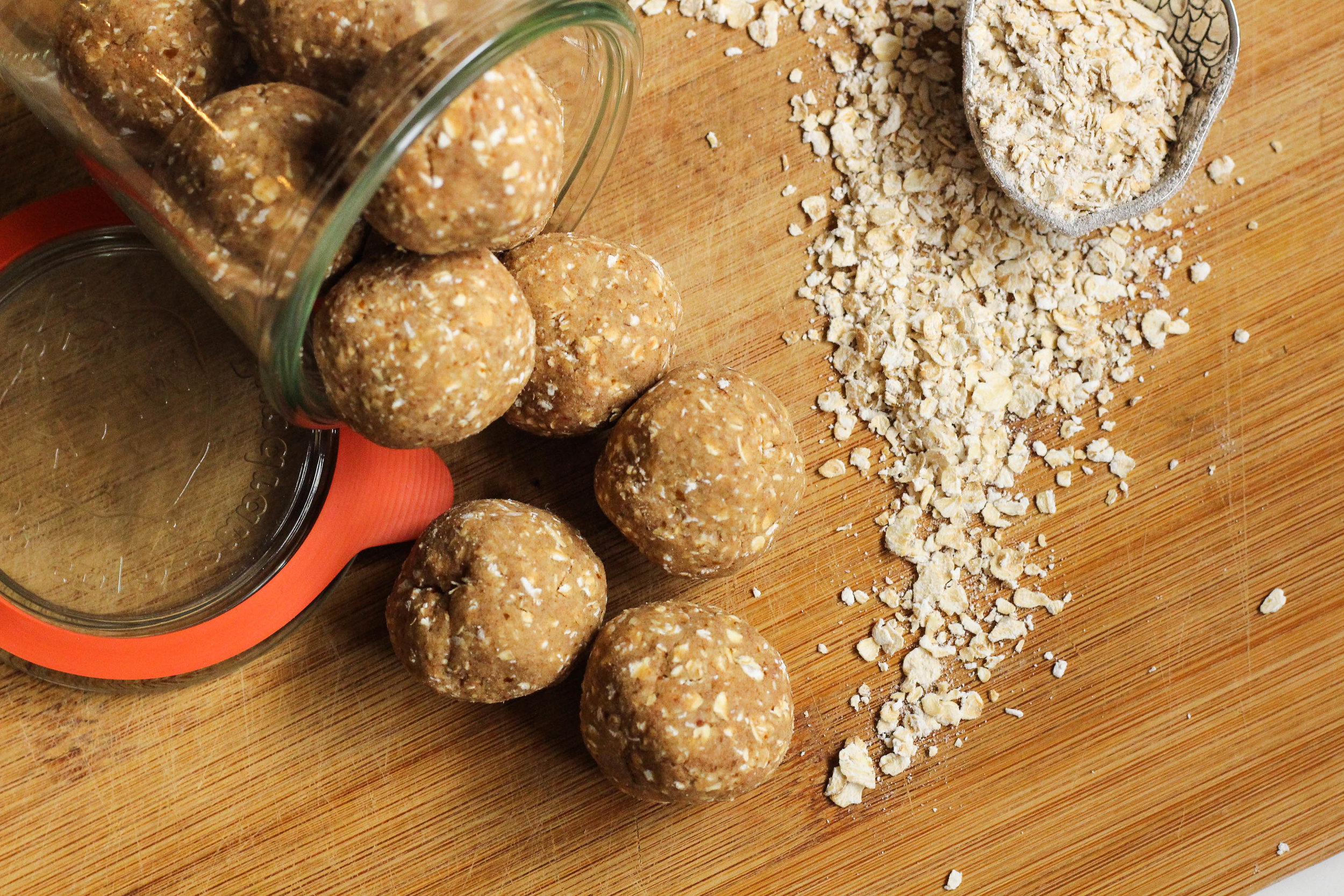 Chai Oat Protein Balls | My Engineered Nutrition