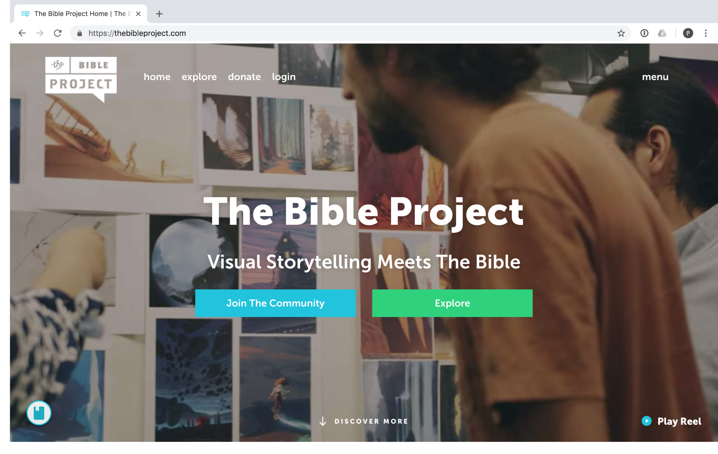 The Bible Project is a non-profit animation studio that produces short-form, fully animated videos to make the biblical story accessible to everyone, everywhere. They create videos, podcasts, and study guides that explore the Bible's unified story and are steadfastly committed to understanding the Bible in its historical context.