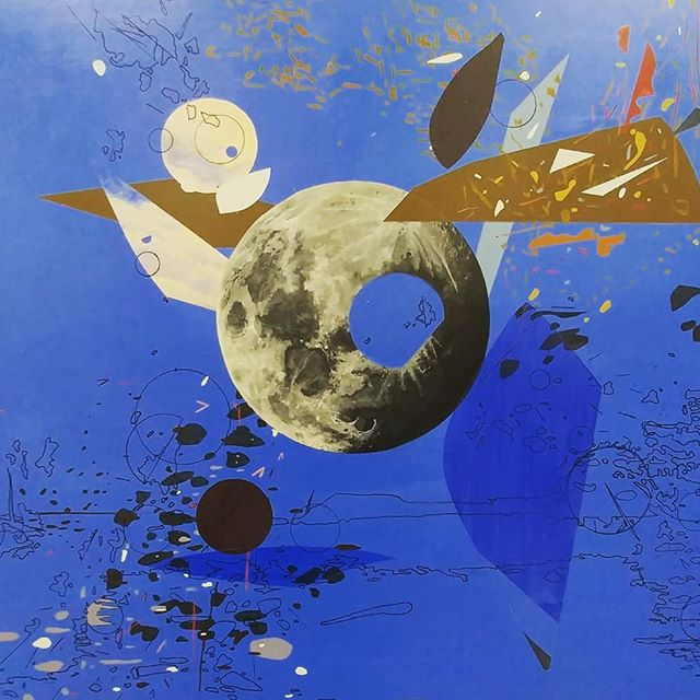 New work in progress! . . . #newwork #inprogress #workinprogress #landscape #landscapepainting #painting #paintings #painting #paint #acrylicpainting #contemporarypainting #contemporarydrawing #contemporaryart #moon #art #artinresidence #uwgb