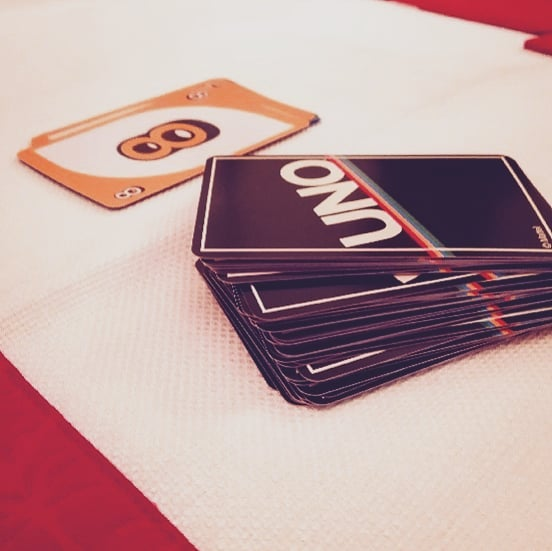 Christmas 🎄 games and fun!  #uno #destroyed