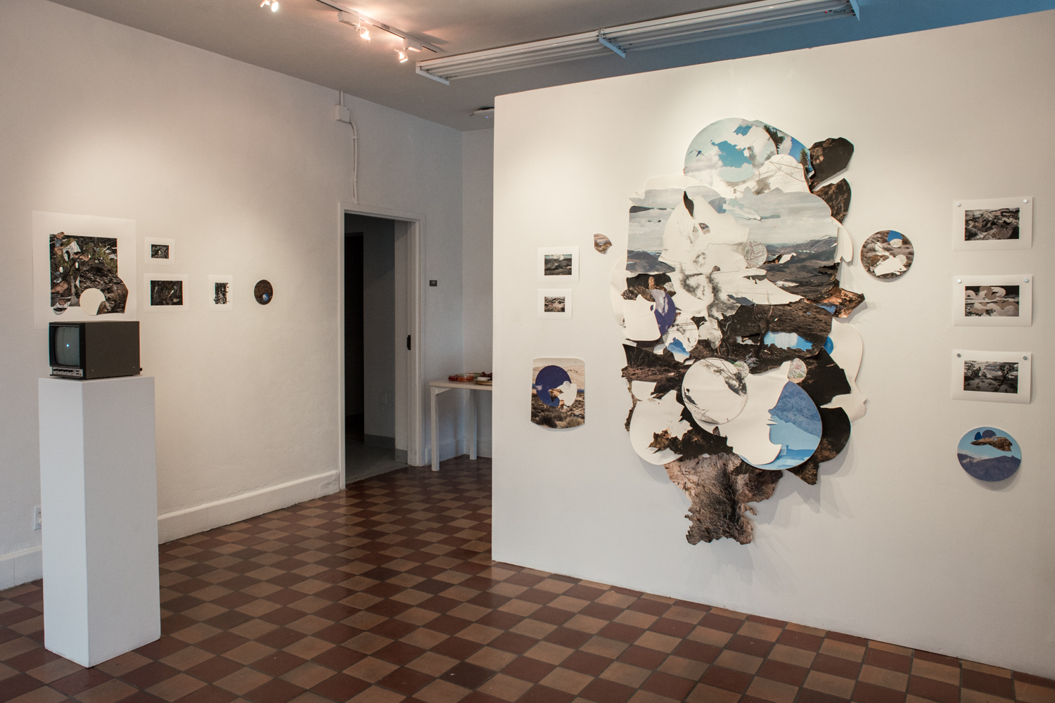 Installation shot- Here, There, and Back Again (4Most Gallery), Gainesville, FL