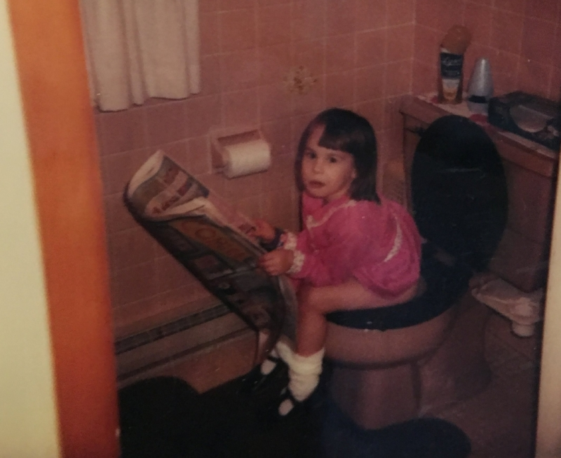 Hi, I'm Sara. - This is a picture of me reading the classifieds, obvs.e: thatssosaralowe@gmail.comp: 269•209•0543Resumé