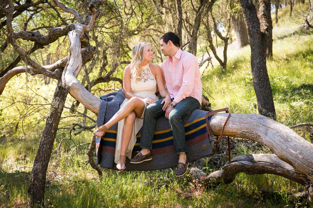 Oak Tree Engagement Session In Paso Robles