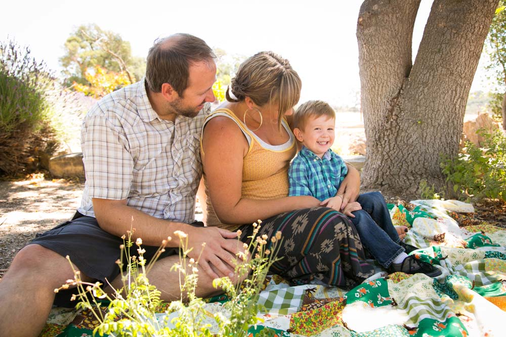 Family and Maternity Session at Kenneth Volk Vineyards