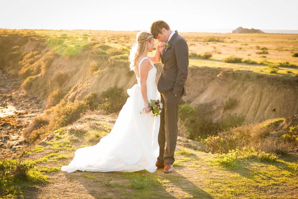 Cayucos Beach Wedding on the Bluffs