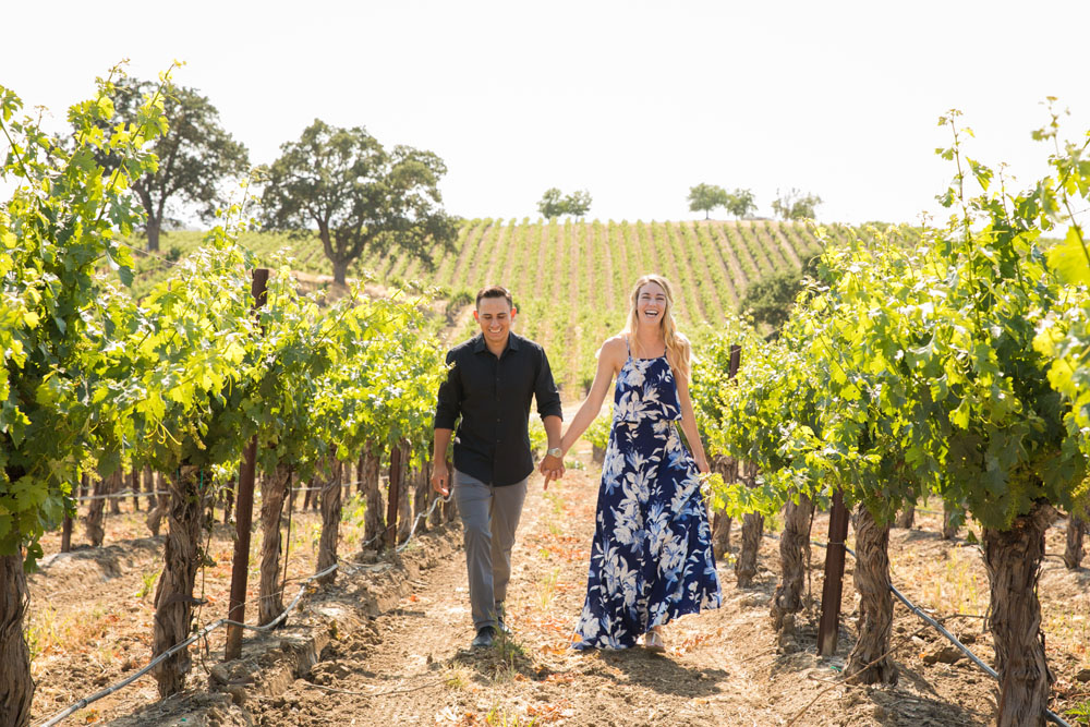 Paso Robles Vineyard Engagement Session