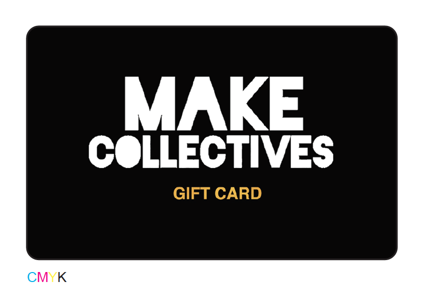 Create gift card for small boutique shop MAKE Collectives