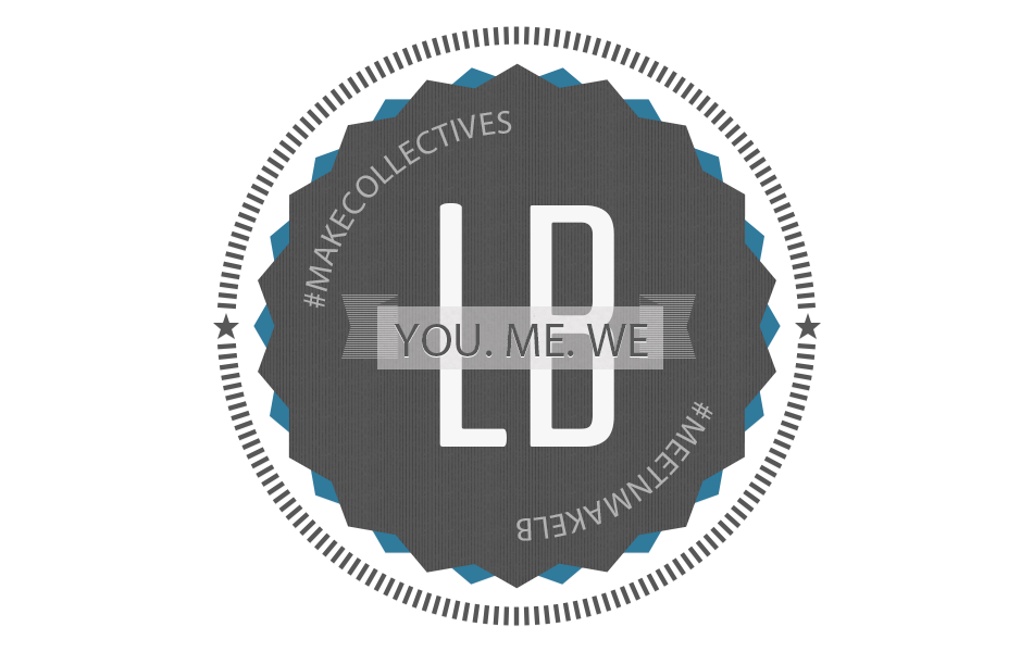 Promotional Sticker for YOU. ME. WE. event at MAKE Collectives