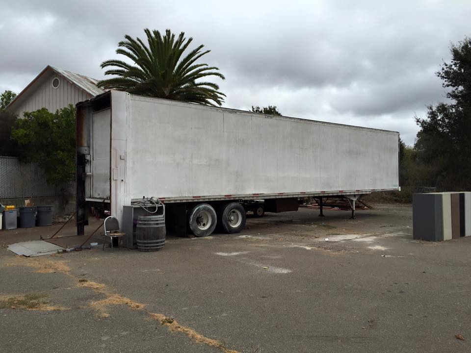 Our big trailer was recently cleaned up and prepped for tool storage while we move into our larger space.