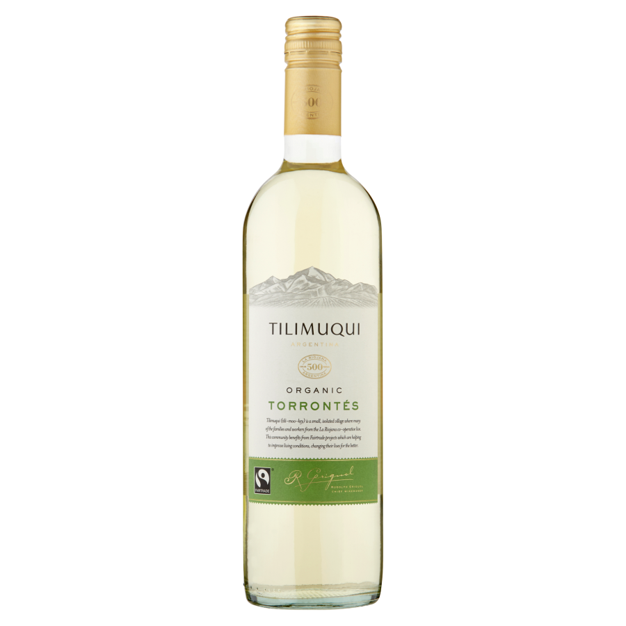 Tilimuqui Fairtrade Organic Torrontes - new bottle shot.png