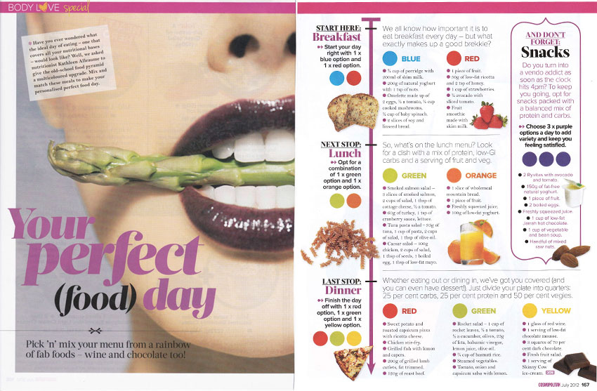 Cosmopolitan July 2012