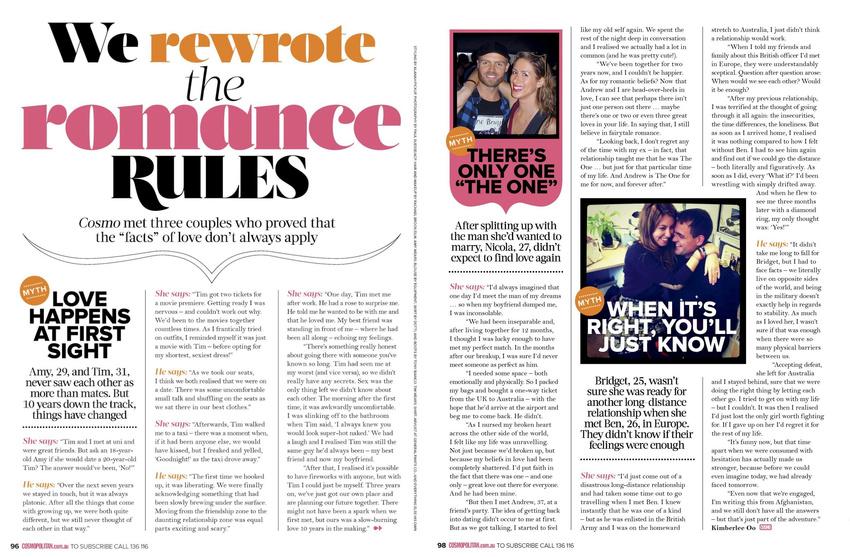 Cosmopolitan March 2012