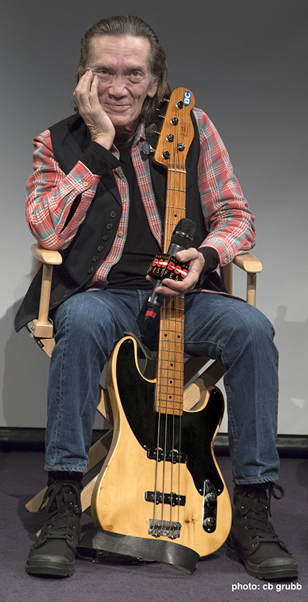 GE Smith in the Q/A for  Carmine Street Guitars
