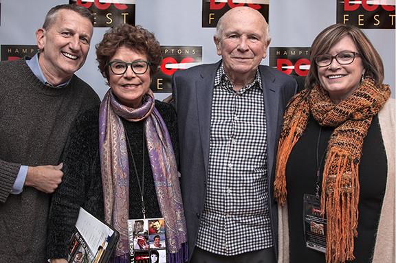 Tom Kirdahy ,Jacqui Lofaro, Terrence McNally and Karen Arikian