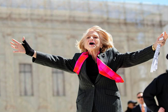 Edie Windsor. Still from the film  To a More Perfect Union: U.S. v Windsor
