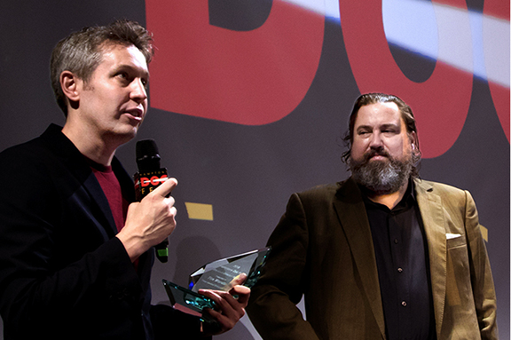 Tim Wardle and Carter Burden